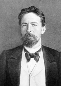 Anton Chekhov. Source: Wikipedia. Click to enlarge.