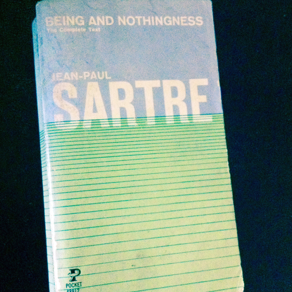 Jeanpaul Sartre Being And Nothingness   Ivyu Click To Enlarge
