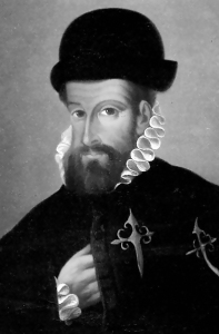 Francisco Pizarro, 1540. Source: Wikipedia. Click to enlarge.