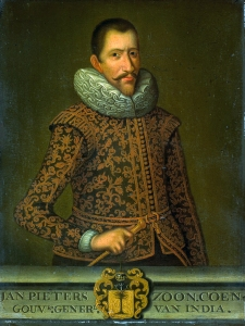 Jan Pieterszoon Coen (1587-1629). Source: Wikimedia Commons. Click to enlarge.