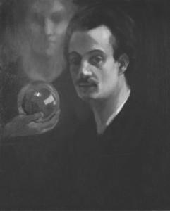Khalil Gibran circa 1911. Source: Wikipedia.Click to enlarge.