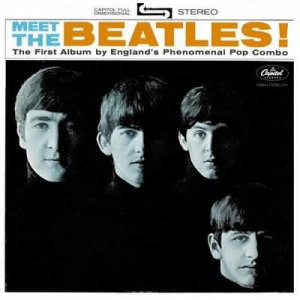 Meet The Beatles, LP cover. Source: Wikipedia. Click to enlarge.