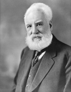 Alexander Graham Bell. Source: Wikipedia. Click to enlarge.