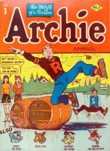 Archie Comics #1. Source: Comic Book. Click to enlarge.