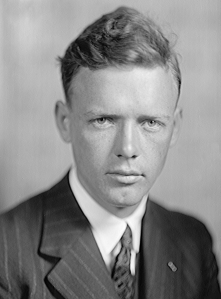 Charles A. Lindbergh. Source: Wikipedia. Click to enlarge.