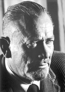 John Steinbeck (1902–1968) in Sweden during his trip to accept the Nobel Prize for Literature in 1962. Soyce: Wikipedia.