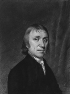 Joseph Priestley (1733–1804) by Ellen Sharples (1794). Source: Wikipedia. Click to enlarge.