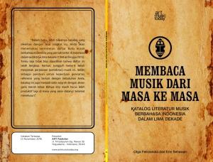 Cover Design - MEMBACA MUSIK DARI MASA KE MASA#2.cdr